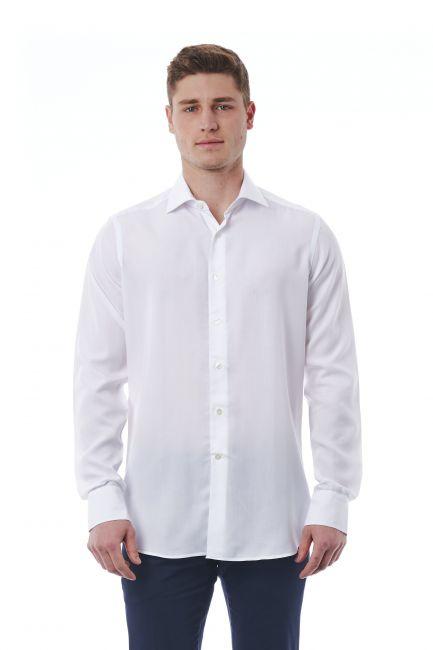 Camicia Bagutta Uomo Bianco 310_BL56525_001BIANCO