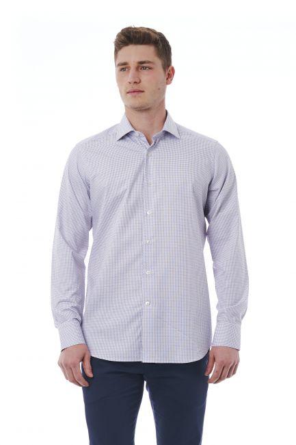 Camicia Bagutta Uomo Bianco 310_BL57620_038BiancoRosa