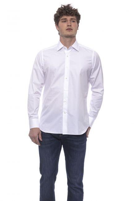 Camicia Bagutta Uomo Bianco 050_AL55346_100BIANCO