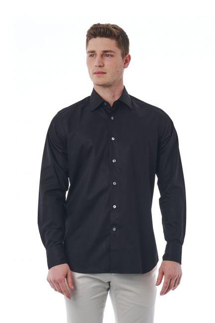 Camicia Bagutta Uomo Nero 050_AL56073_995Nero