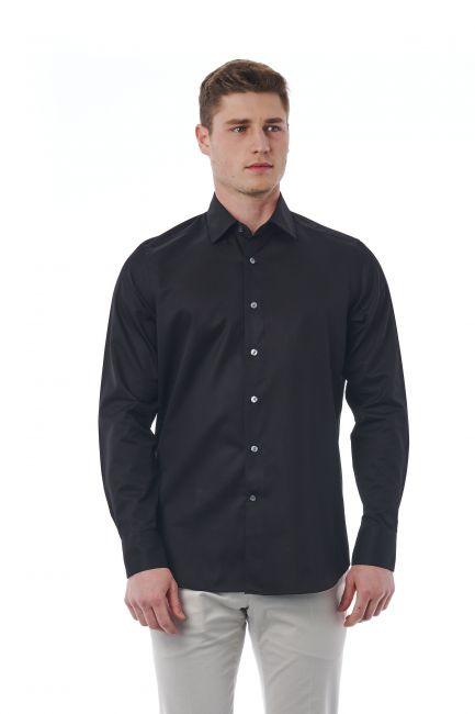 Camicia Bagutta Uomo Nero 050_AL56073_996Nero
