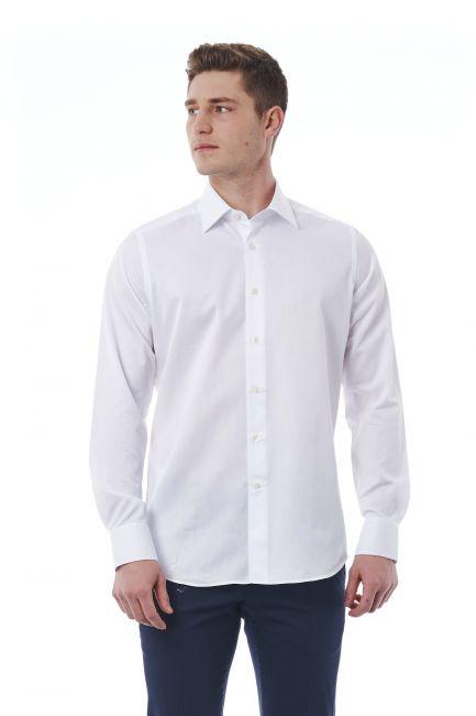 Camicia Bagutta Uomo Bianco 050_AL56073_106Bianco