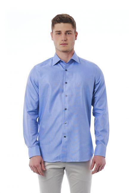 Camicia Bagutta Uomo light-blue 050_AL57497_040Azzurro