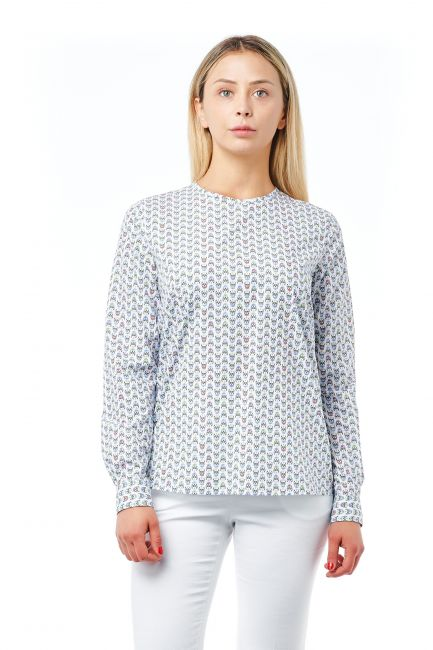 Camicia Bagutta Donna Bianco 21018_BiancoWhite