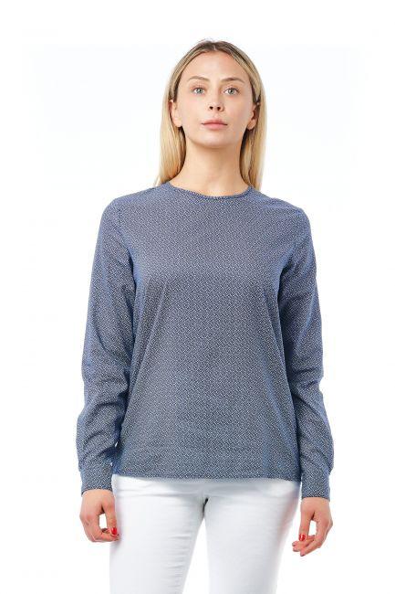 Camicia Bagutta Donna Blu 21028_BluNavy