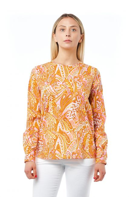 Camicia Bagutta Donna Arancione 21029_ArancioOrange