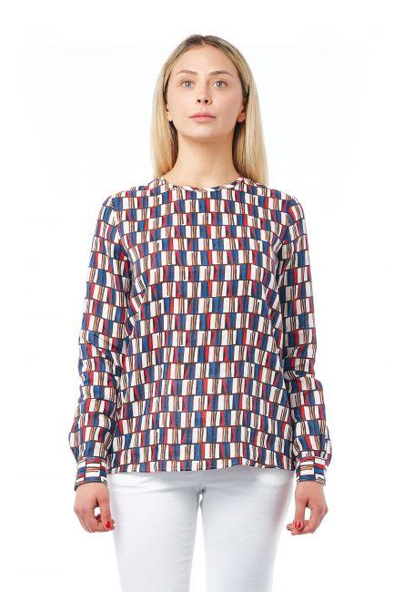 Camicia Bagutta Donna Blu 21031_BluNavy