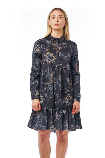 Fluid Dress Bagutta 21039_NeroBlack