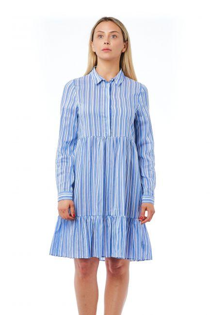 Fluid Dress Bagutta 21040_AzzurroSky