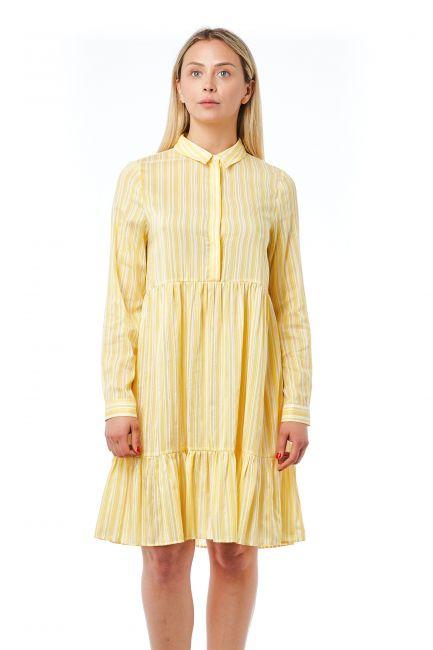 Fluid Dress Bagutta 21041_GialloYellow