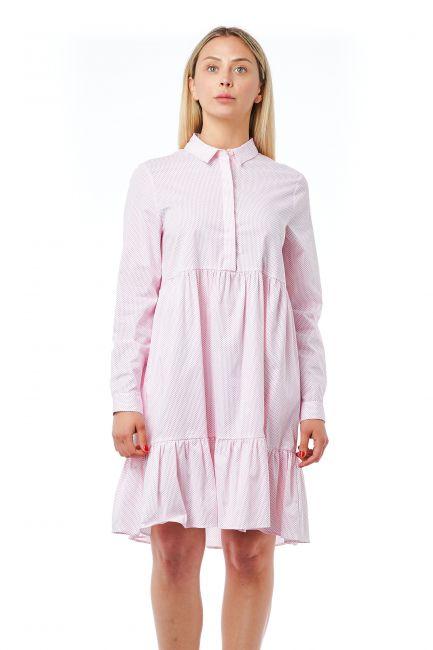 Fluid Dress Bagutta 21042_Fuxia