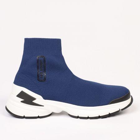 Sneakers Neil Barrett Uomo Blu 21105_415DARKNAVY