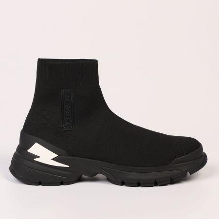 Sneakers Neil Barrett Uomo Nero 21106_01BLACK