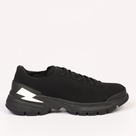 Sneakers Neil Barrett Uomo Nero 21107_01BLACK