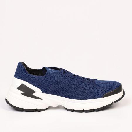Sneakers Neil Barrett Uomo Blu 21108_415DARKNAVY