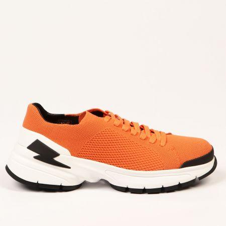 Sneakers Neil Barrett Uomo Arancione 21111_17ORANGE