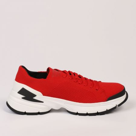 Sneakers Neil Barrett Uomo Rosso 21112_554RED