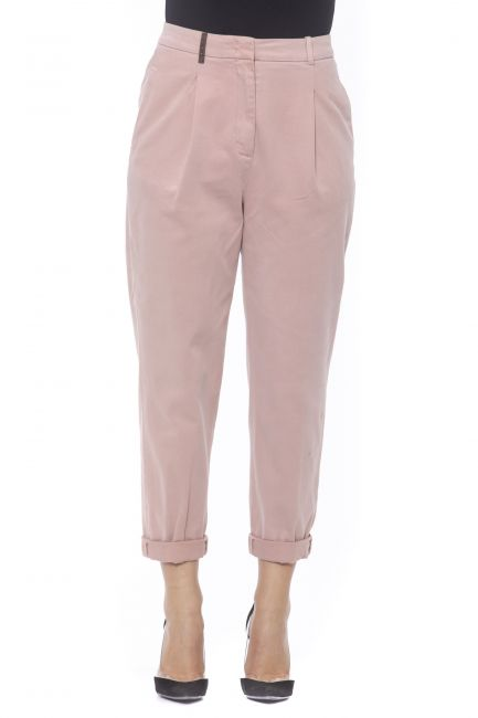 High Waisted Trousers Peserico 21171_695ROSA