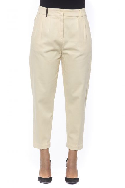 High Waisted Trousers Peserico 21172_611GIALLO
