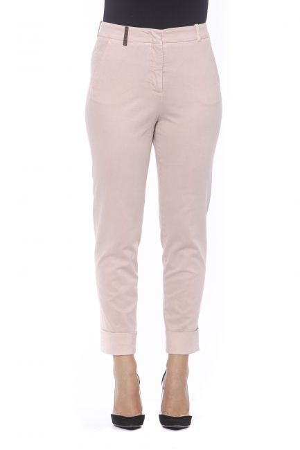 High Waisted Trousers Peserico 21176_696ROSA