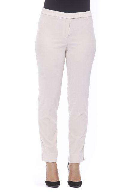 Elasticized Gabardine Trousers Peserico 21180_640ROSA