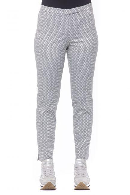 Elasticized Gabardine Trousers Peserico 21182_937GRIGIO