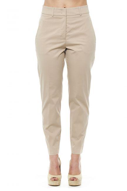 High Waist Trousers Peserico 21235_942BEIGE