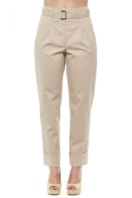 High Waisted Trousers Peserico 21245_942BEIGE