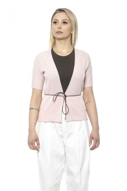 Short Sleeve Light Cardigan Peserico 21305_094Rosa