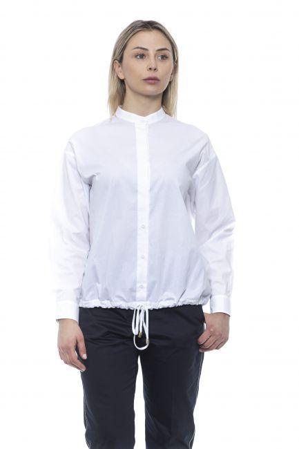 Long Sleeve Blouse Peserico 21309_001BIANCO