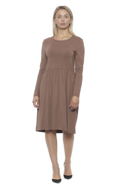 Long Sleeve Midi Dress Peserico 21313_59BROSA