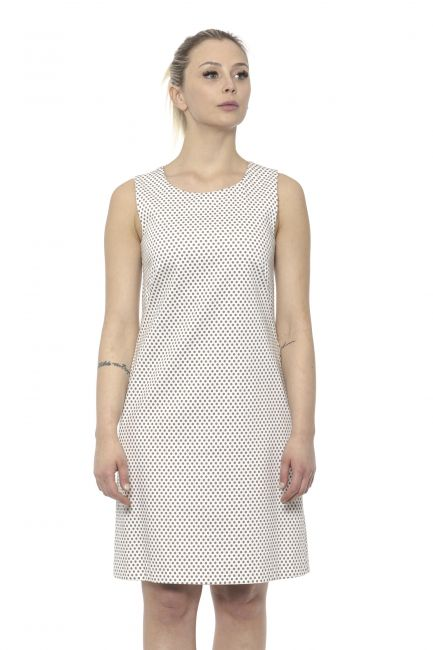 Sleeveless Midi Dress Peserico 21329_949BEIGE