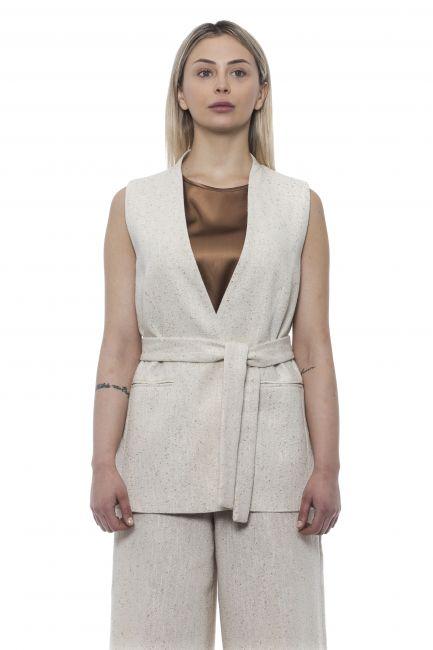 Soft Vest Peserico 21340_944BEIGE