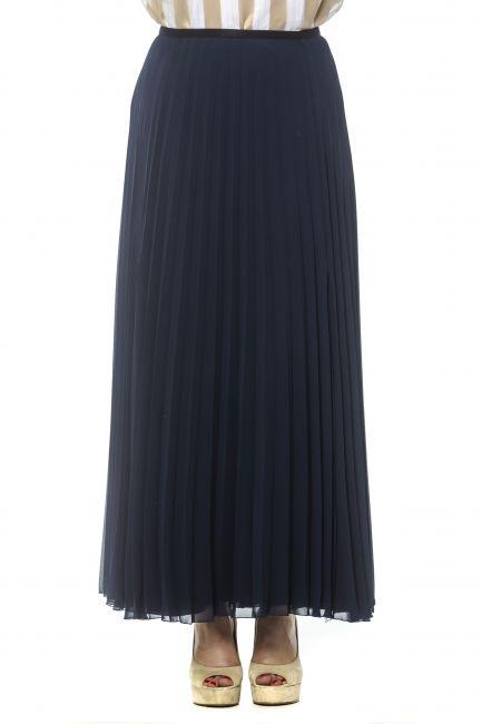 Long Skirt Peserico 21345_861BLU