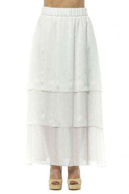 Long Skirt Peserico 21351_001BIANCO