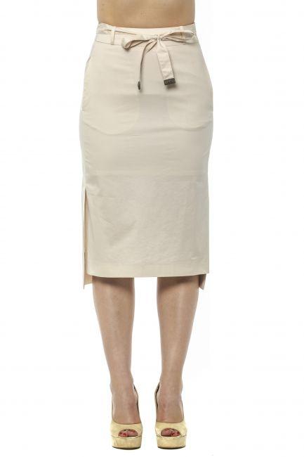 Tight Pencil Skirt Peserico 21352_144Beige