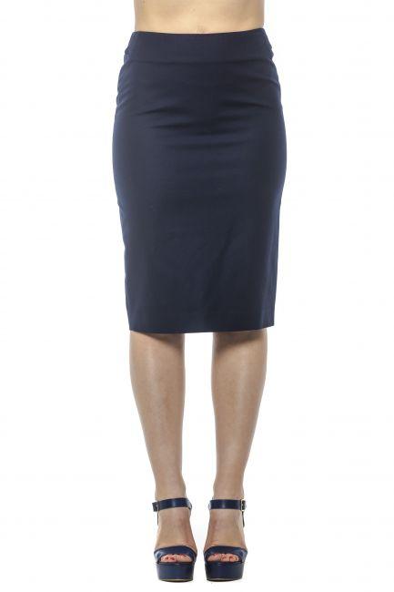 Tight Pencil Skirt Peserico 21354_061BLU