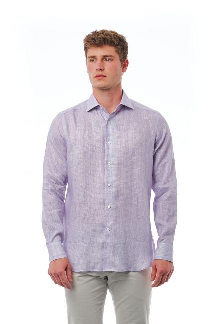 Shirt Bagutta Men's 21370_832BiancoAzzurro