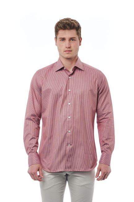 Shirt Bagutta Men's 21397_017BiancoRosso