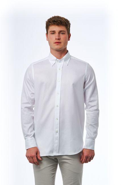 Shirt Bagutta Men's 21404_104bianco