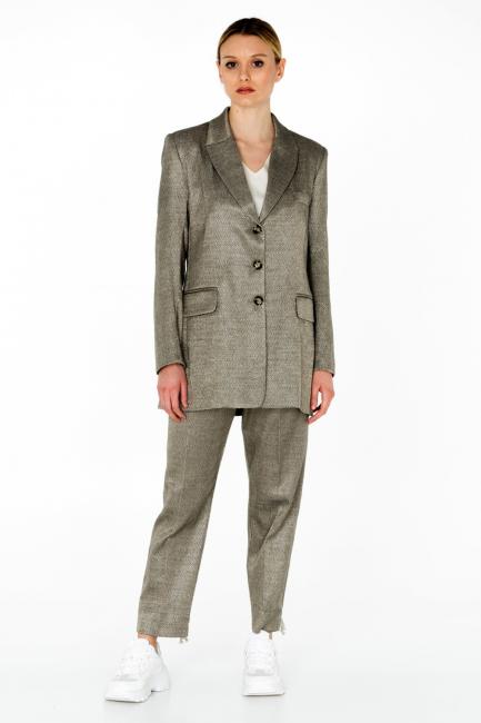 Blazer Donna Cristina Gavioli CA0006 grigio