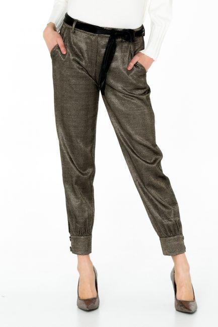 Pantalone Donna Cristina Gavioli CA0008 nero