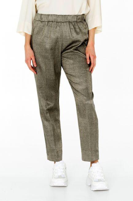 Pantalone Donna Cristina Gavioli CA0009 moro