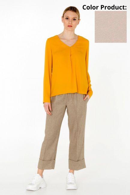 Blusa Donna Cristina Gavioli CA0033 beige