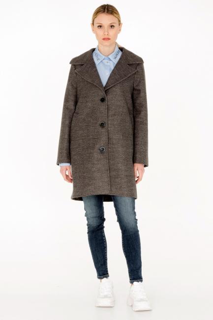 Cappotto Donna Cristina Gavioli CA0034 grigio chiaro