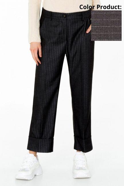 Pantalone Donna Cristina Gavioli CA0046 grigio
