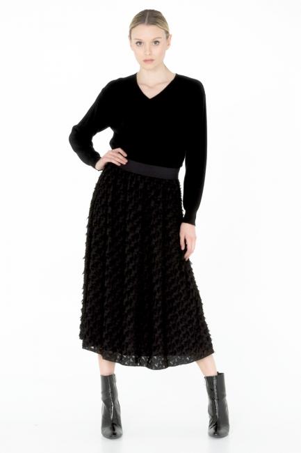 Woman Skirt Cristina Gavioli CA0060 nero