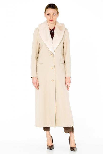 Cappotto Donna Cristina Gavioli CA0061 burro