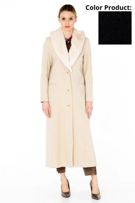 Woman Coat Cristina Gavioli CA0061 blu