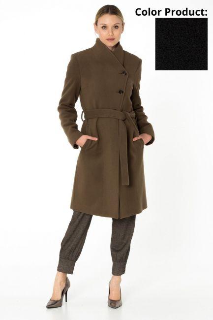 Cappotto Donna Cristina Gavioli CA0062 nero